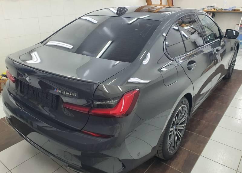 Антигравийная защита BMW M340