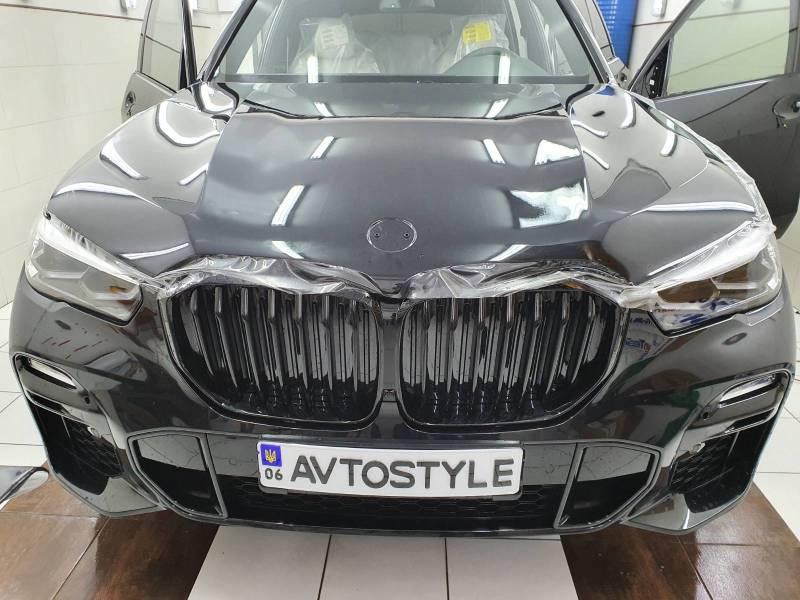 бронирование капота BMW X3