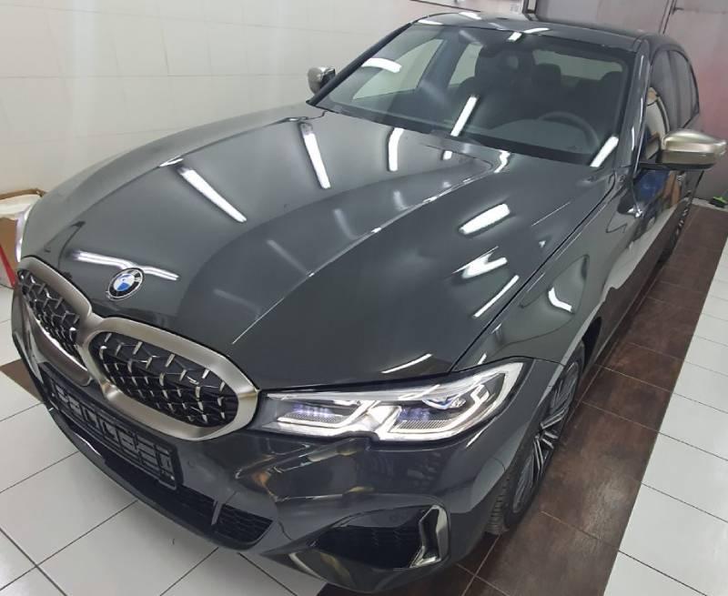 ТОнировка и защита пленкой BMW M340
