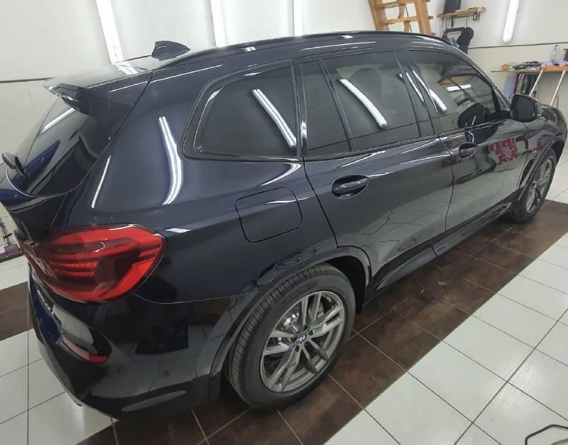 тонирование стекол BMW X3